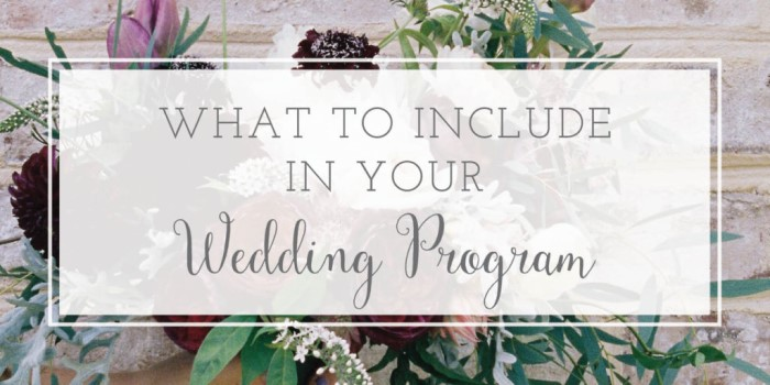what-to-include-in-a-wedding-program