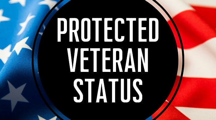 what is protected veteran