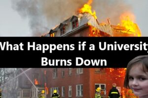 What Happens if a University Burns Down - Pass by Catastrophe
