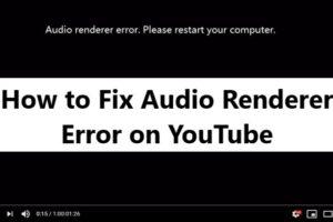 Fix Audio renderer error Youtube