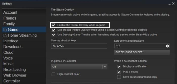 Fix Steam Client Bootstrapper High CPU - Steam Overlay