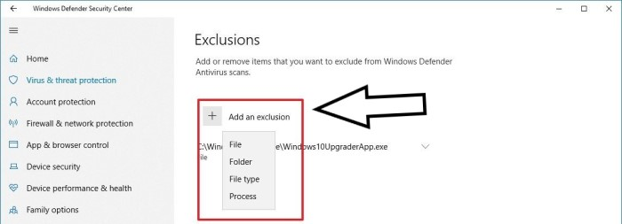 SKSE64 Not Working - fix - Add an Exclusion to your Antivirus or Windows Defender
