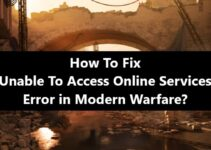 Unable To Access Online Services - Modern Warfare