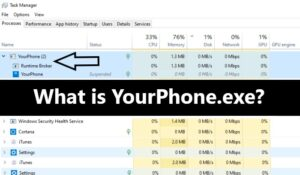 What is YourPhone.exe Windows 10