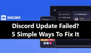 Discord update failed fix