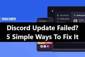Discord update failed fix