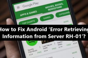 Error retrieving information from server RH-01 - Fix