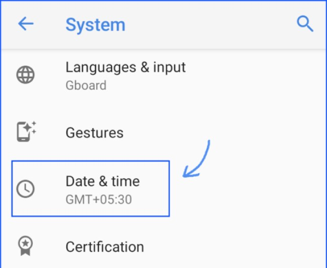 Error retrieving information from server RH-01 - Fix Date and Time