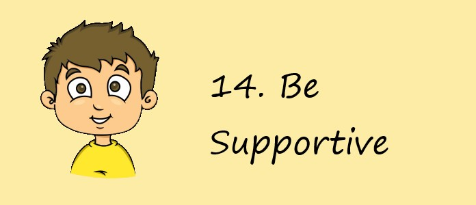 What Boys Want - Be Supportive