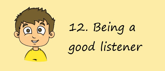 What Boys Want - Being a good listener