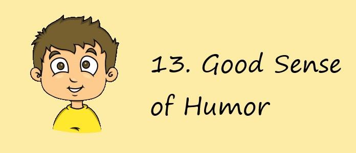 What Boys Want - Good Sense of Humor