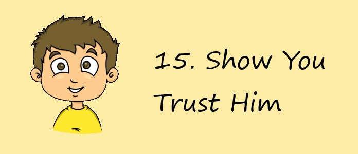 What Boys Want - Show Trust