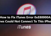 iTunes Error 0xE80000A Fix
