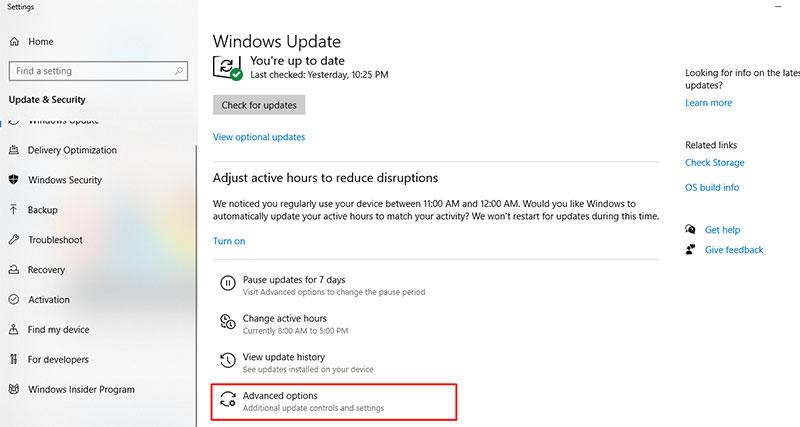 Block Automatic Updates