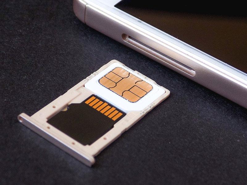 sim card inserted correctly
