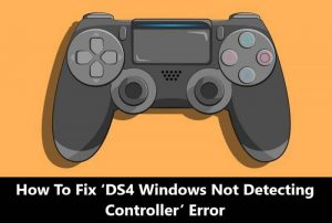 DS4 Windows Not Detecting Controller